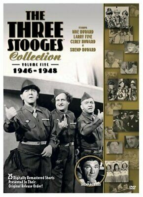 The Three Stooges Collection, Vol. 5: 1946-1948 [DVD] NEW!