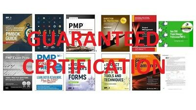 KIT PMP 2019 (updated pmbok 6th) (e books) (digital pdf) (for certification)
