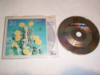 Maxi CD - Tears for Fears Sowing the seeds of Love + Shout # R3
