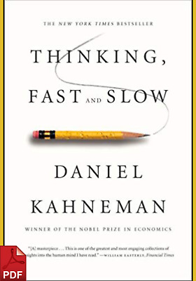 Thinking Fast and Slow by Daniel Kahneman [PDF]⚡Fast Delivery⚡