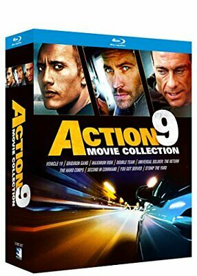 Fast Action 9 Movie Pack Bundle [Blu-ray] NEW!