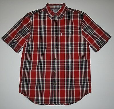 1ecfd15c New Mens Carhartt Short Sleeve Relaxed fit Cotton Casual Button up Shirt