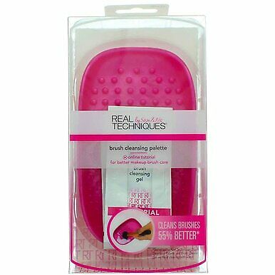 2 Pack Real Techniques Brush Cleansing Palette