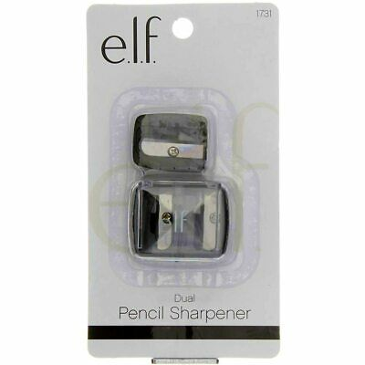 2 Pack e.l.f. Dual Pencil Sharpener, 2 Ct