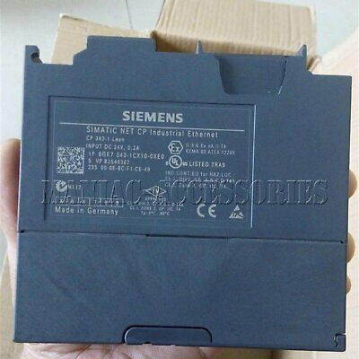 1PC Siemens 6GK7343-1CX10-0XE0 PLC module Tested It In Good Conditio