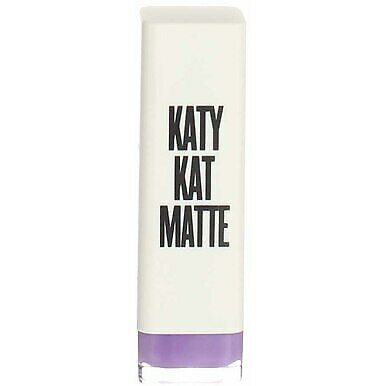 4 Pack CoverGirl Katy Kat Matte Lipstick, Cosmo Kitty KP08, 0.12 oz