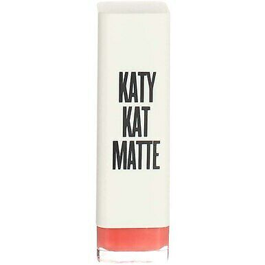 4 Pack CoverGirl Katy Kat Matte Lipstick, Coral Cat KP04, 0.12 oz