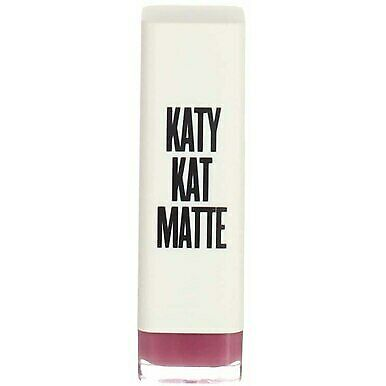4 Pack CoverGirl Katy Kat Matte Lipstick, Kitty Purry KP07, 0.12 oz