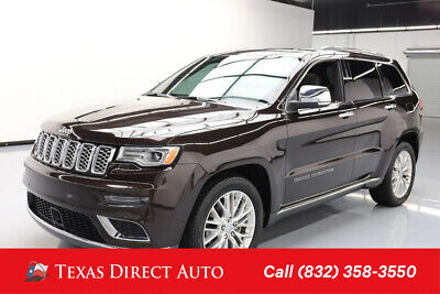 2017 Jeep Grand Cherokee Summit Texas Direct Auto 2017 Summit Used 3.6L V6 24V Automatic RWD SUV