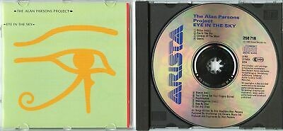 ALAN PARSONS PROJECT Eye In The Sky 1983 GERMANY CD rare early press TOP SOUND!
