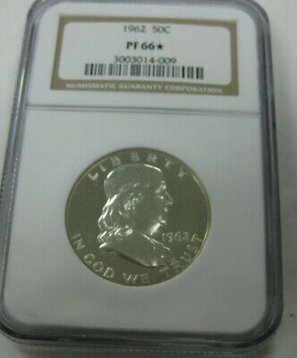 1962 Franklin Half Dollar 50C Ngc Certified Pf 66* Star Proof