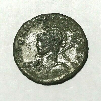 Ancient Roman Empire, 1st - 3rd c. AD. Bronze Coin, silvered