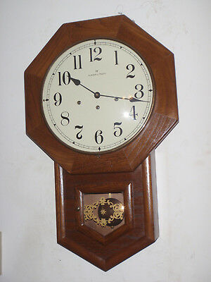 Hamilton Headmaster Westminster Chime Wall Clock Franz Hermle 351-030A Beautiful