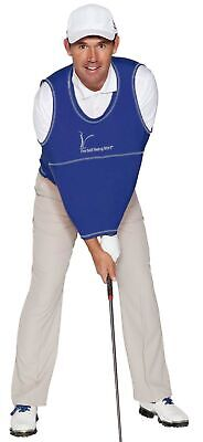 The Golf Swing Shirt Navy Blue #6 210-240lbs Unisex Golf Training Aid Trainer