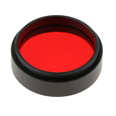 """1.25"""" Telescope Eyepiece Lens Color Filter for Moon Planet Multi-coated Red"""