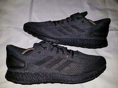 204e3d4d9c0 Mens ADIDAS PureBoost DPR LTD Limited Edition Shoes All Black Pure Boost Sz  11.5