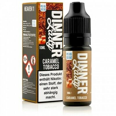 Dinner Lady Caramel Tobacco eLiquid 10ml