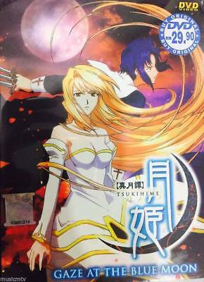 DVD Shingetsutan Tsukihime Gaze at the Blue Moon Chapter 1-12 End English SUB