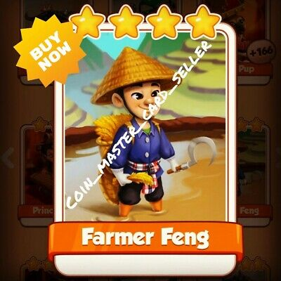 Farmer Feng :- Coin Master ( Fastest Delivery ) Card Seller