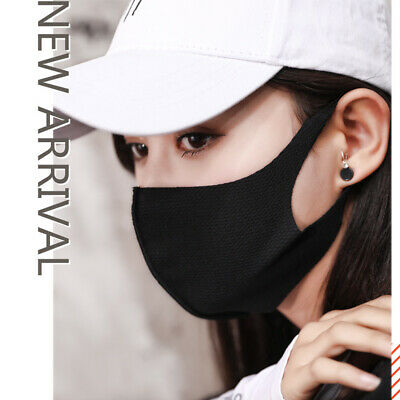 Fashion Washable Cotton Earloop Mask Cycling Anti Dust Pollution Mouth Face Mask