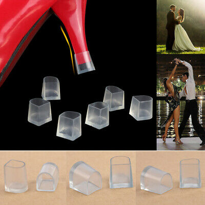 2Pcs Women High Heel Protectors Latin Betty Dance Shoes Cover Protector AntiSkid