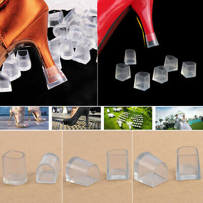 2Pcs Women High Heel Protectors Latin Betty Dance Shoes AntiSkid Cover Protector