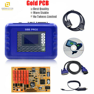 SBB Pro2 V48.88 Car Key Programmer Support Car to 2017 Replace SBB 46 Gold PCB