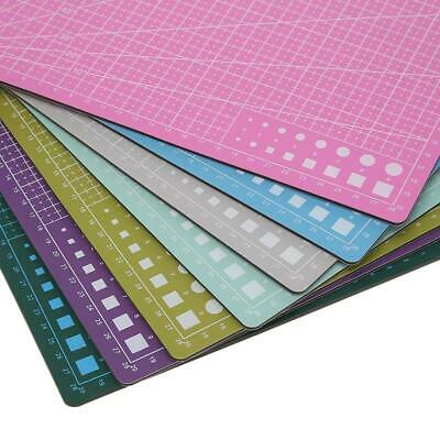 PVC Double Side Self-healing Non Slip DIY Cutting Board Patchwork Mat Pad SN9F