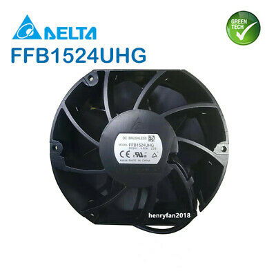 Delta FFB1524UHG axial fan 24V For ABB inverter ACS580/880 R6/R7 3AUA0000085511