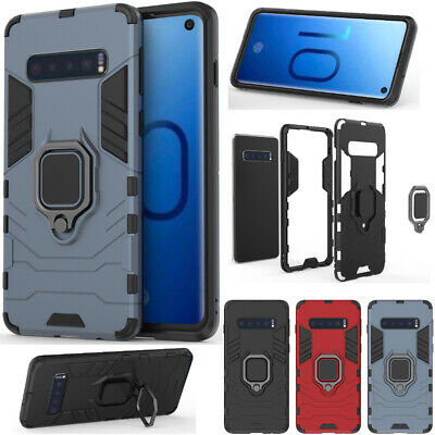 Heavy Duty Hybrid Shockproof Case Tough Cover For Samsung Galaxy S10 Plus /S10e