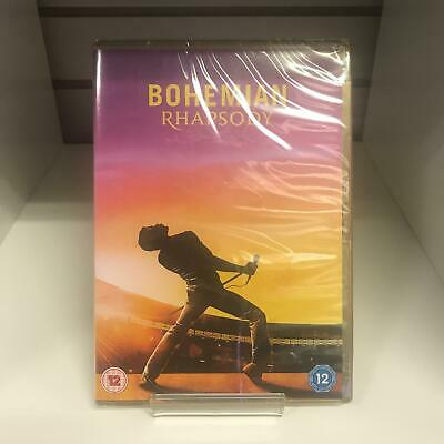 Bohemian Rhapsody DVD (2018) New and Sealed Fast and Free Delivery