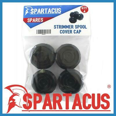 Pack of 2 Spartacus Grass Strimmer Trimmer Spool Cover Caps to Fit Qualcast CGT183A CGT18LA1