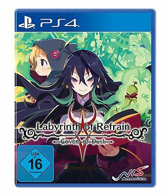 PS4 Spiel Labyrinth of Refrain: Coven of Dusk NEUWARE