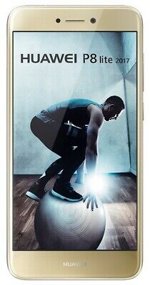 Huawei P8 lite (2017) 5,2 Zoll Smartphone 16GB Android gold - sehr guter Zustand