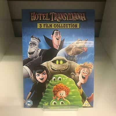Hotel Transylvania 1 2 & 3 DVD 3 Film Collection - New and Sealed