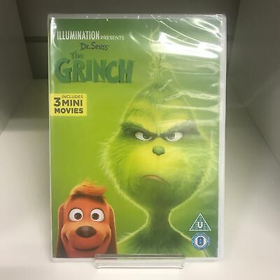 The Grinch DVD (2018) New & Sealed