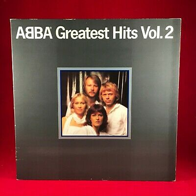 ABBA Greatest Hits Vol. 2 1979 UK Vinyl LP + INNER EXCELLENT CONDITION volume ##