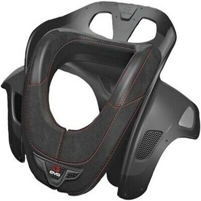 EVS RACE COLLAR EVOLUTION, schwarz 002/45-68kg ohne Brustgeschirr