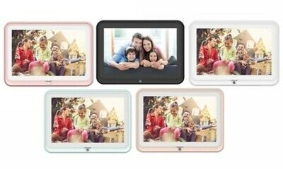 NEW HP Digital Picture Frame with WiFi & Touchscreen - Rose