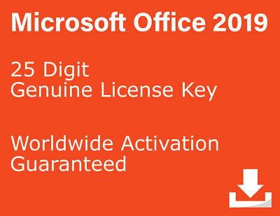 Microsoft Office 2019 Professional Plus License Key for PC