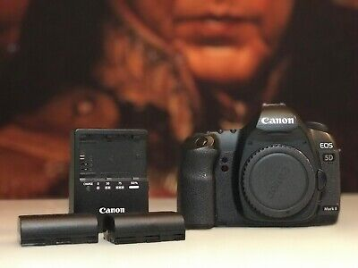 Canon EOS 5D Mark II 21.1MP Digital SLR Camera - Black (Body Only) Amazing!
