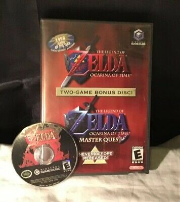 The Legend of Zelda: Ocarina of Time (MASTER QUEST)  (Nintendo GameCube, 2003)