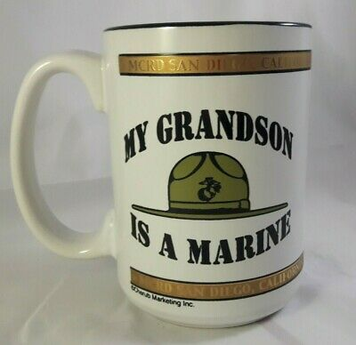 My Grandson is a Marine MCRD San Diego California Coffee Mug