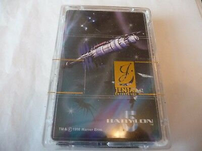 BABYLON 5 - 'The Space Deck' Limited Edition Playing Card Set (54) by Jenjai