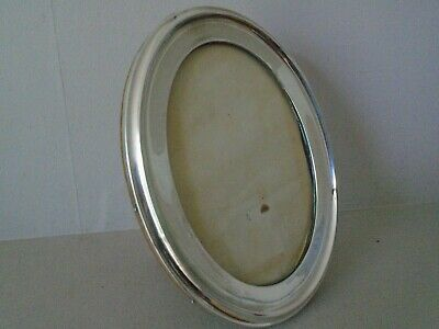 """Very Beautiful Large 8.25""""  Antique Ww 1 1915 Hallmarked Silver Photo Frame"""