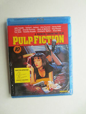 NEW Pulp Fiction Movie Blu-Ray - Factory Sealed