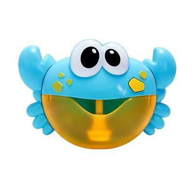 Crab/ Frog Bubble Maker Automated Spout Bubble Machine Bath Shower Kids Fun Toy