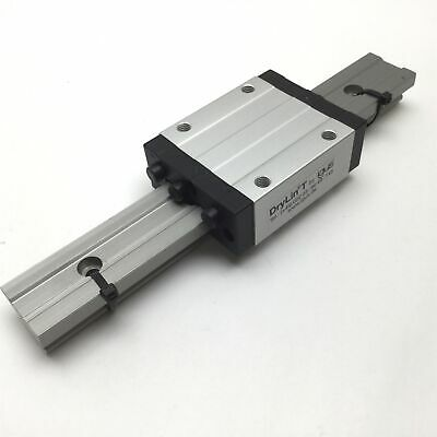 """Igus TW-01-15 Carriage on 9.875"""" Rail, Carriage Dimensions: 2.75"""" x 3.5"""""""
