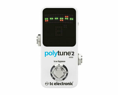 TC Electronic PolyTune Mini 2 Electric Guitar Tuning Pedal PROAUDIOSTAR