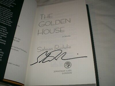 SALMAN RUSHDIE - The Golden House SIGNED 1/1 Hb book - 2017 - FIRST EDITION